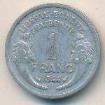 Франция, 1 франк (1944 г.)