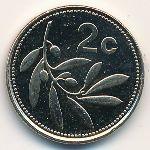 Мальта, 2 цента (2002 г.)