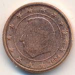 Бельгия, 1 евроцент (2004 г.)