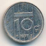 Нидерланды, 10 центов (1997 г.)