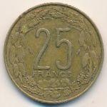 Центральная Африка, 25 франков (1983 г.)