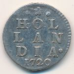 Голландия, 2 стивера (1720 г.)