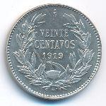 Чили, 20 сентаво (1919 г.)