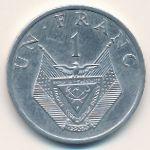 Руанда, 1 франк (1985 г.)