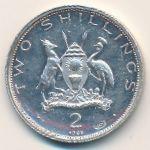 Уганда, 2 шиллинга (1969 г.)