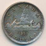 Канада, 1 доллар (1952 г.)