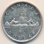 Канада, 1 доллар (1954–1963 г.)
