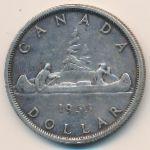 Канада, 1 доллар (1955 г.)