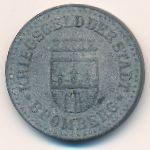 Бромберг., 10 пфеннигов (1919 г.)