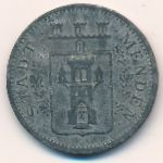 Менден., 10 пфеннигов (1917 г.)