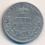 Итальянское Сомали, 1/4 рупии (1910 г.)