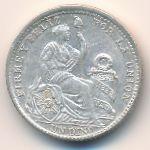 Перу, 1 динеро (1906 г.)
