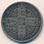 Великобритания, 1 флорин (1857 г.)
