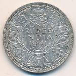 Британская Индия, 1 рупия (1941 г.)