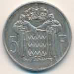 Монако, 5 франков (1960 г.)