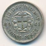 Великобритания, 3 пенса (1941 г.)