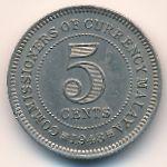 Малайя, 5 центов (1948–1950 г.)