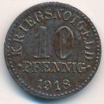 Брауншвейг., 10 пфеннигов (1918 г.)