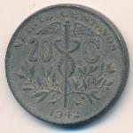 Боливия, 20 сентаво (1942 г.)