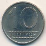 Польша, 10 злотых (1984 г.)