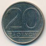 Польша, 20 злотых (1984 г.)