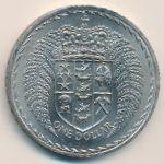 Новая Зеландия, 1 доллар (1967 г.)