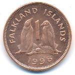 Фолклендские острова, 1 пенни (1998 г.)