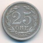 Швеция, 25 эре (1904 г.)