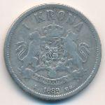 Швеция, 1 крона (1889 г.)