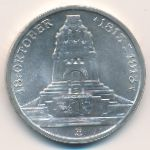 Саксония, 3 марки (1913 г.)