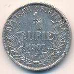 Немецкая Африка, 1/4 рупии (1907 г.)