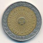 Аргентина, 1 песо (1994 г.)