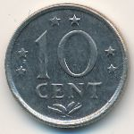 Антильские острова, 10 центов (1970 г.)