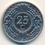 Антильские острова, 25 центов (2003 г.)