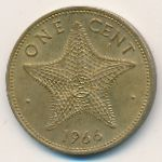 Багамские острова, 1 цент (1966 г.)