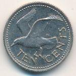 Барбадос, 10 центов (1973 г.)