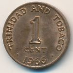 Тринидад и Тобаго, 1 цент (1966 г.)