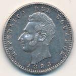 Эквадор, 2 десимо (1895 г.)
