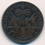 Гаити, 1 сентим (1881 г.)