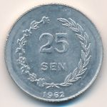 Ириан Барат, 25 сен (1962 г.)