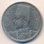 Египет, 5 пиастров (1937 г.)