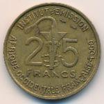 Французская Западная Африка, 25 франков (1957 г.)
