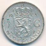 Нидерланды, 1 гульден (1955–1965 г.)