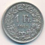 Швейцария, 1 франк (1945 г.)
