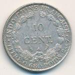 Французский Индокитай, 10 центов (1929 г.)