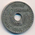 Тунис, 10 сентим (1938 г.)