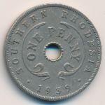 Южная Родезия, 1 пенни (1939 г.)