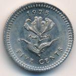 Родезия, 5 центов (1975 г.)