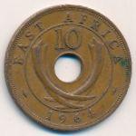 Восточная Африка, 10 центов (1964 г.)