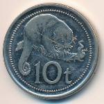 Папуа - Новая Гвинея, 10 тоа (2002 г.)
